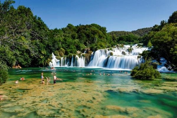 Narodowy Park Krka w Chorwacji