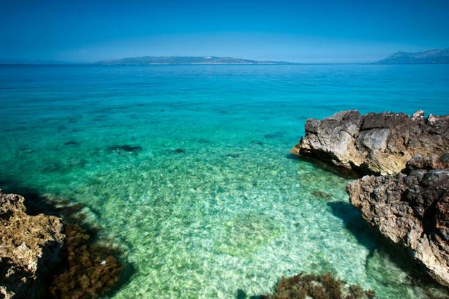 Wybrzeże w Chorwacji