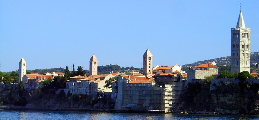 Chorwacka wyspa Rab