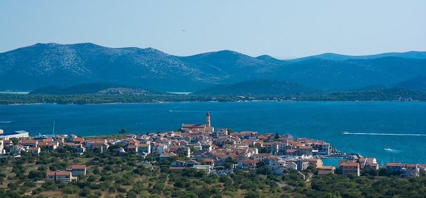 Chorwacka wyspa Murter